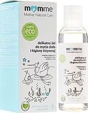 Düfte, Parfümerie und Kosmetik Beruhigendes und feuchtigkeitsspendendes Waschgel für Körper und Intimhygiene - Momme Mother Natural Care Gel
