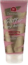 Düfte, Parfümerie und Kosmetik Feuchtigkeitsspendende Körpermilch mit seidigem Schimmer - Dermacol Glitter My Body