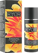 Düfte, Parfümerie und Kosmetik Revitalisierendes Serum mit Hyaluronsäure und Arganöl - Ryor Revitalizing Serum With Hyaluronic Acid And Argan Oil