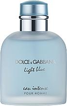 Düfte, Parfümerie und Kosmetik Dolce & Gabbana Light Blue Eau Intense Pour Homme - Eau de Parfum