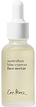 Düfte, Parfümerie und Kosmetik Revitalisierendes und glättendes Gesichtsöl mit Traubenkern, blauer Zypresse aus Australien, Kamelie, Jasminblüte, Jojoba, Zedernholz und Reis - Ere Perez Australian Blue Cypress Face Nectar