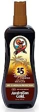 Düfte, Parfümerie und Kosmetik Sonnenschutzspray mit Bronzer SPF 15 - Australian Gold Sunscreen Spf15 Spray Gel With Instant Bronzer