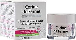 Düfte, Parfümerie und Kosmetik Feuchtigkeitsspendende Gesichtscreme mit Pfingstrosenextrakt - Corine de Farme