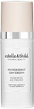 Düfte, Parfümerie und Kosmetik Antioxidative Tagescreme für das Gesicht gegen die ersten Anzeichen des Alterns - Estelle & Thild BioDefense Antioxidant Day Cream