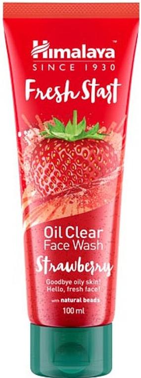 Gesichtsreinigungsöl mit Erdbeere - Himalaya Herbals Fresh Start Oil Clear Face Wash Strawberry