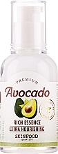 Düfte, Parfümerie und Kosmetik Reichhaltige und pflegende Gesichtsessenz mit Avocadoextrakt - Skinfood Premium Avocado Rich Essence