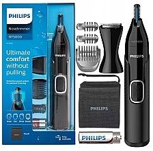 Düfte, Parfümerie und Kosmetik Nasenhaar-, Ohrenhaar-, Augenbrauen- und Detailtrimmer NT5650/16 - Philips 5000