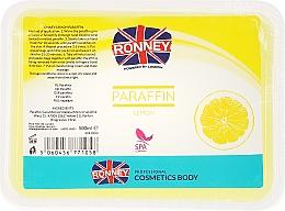 Düfte, Parfümerie und Kosmetik Paraffinwachs mit Zitronenduft zur Behandlung von Händen und Füßen - Ronney Paraffin Lemon