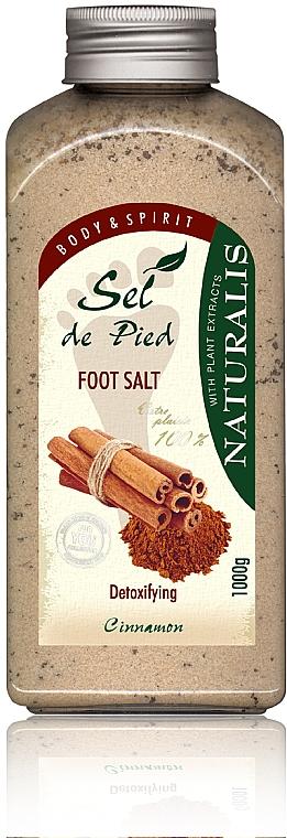 Fußbadesalz - Naturalis Sep de Pied Cinnamon Foot Salt