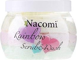 Düfte, Parfümerie und Kosmetik Körperpeeling Wassermelone - Nacomi Rainbow Scrub & Wash