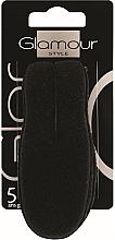 Düfte, Parfümerie und Kosmetik Haarroller aus Schaumstoff schwarz - Glamour