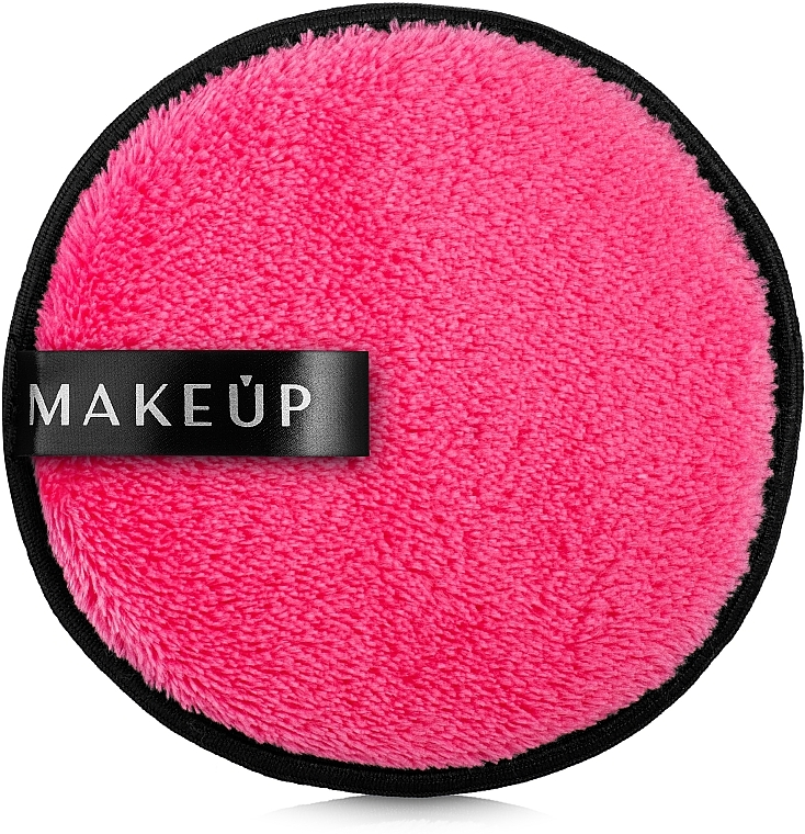Waschpuff zum Abschminken Fuchsia - MakeUp Makeup Cleansing Sponge Fuchsia