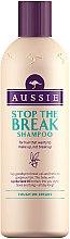 Düfte, Parfümerie und Kosmetik Shampoo für strapaziertes Haar mit Jojobasamenöl - Aussie Stop The Break Shampoo