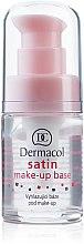 Düfte, Parfümerie und Kosmetik Hypoallergene Make-up Base - Dermacol Satin Base Make-Up