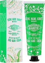 """Düfte, Parfümerie und Kosmetik Handcreme mit Sheabutter """"So Chic"""" - Institut Karite So Chic Hand Cream Lily Of The Valley"""