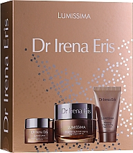 Düfte, Parfümerie und Kosmetik Gesichtspflegeset - Dr Irena Eris Lumissima (Tagescreme 50ml + Nachtcreme 30ml + Augenkonturcreme 15ml)