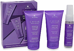 Düfte, Parfümerie und Kosmetik Haarpflegeset - Alterna Caviar Anti-Aging Multiplying Volume (Shampoo 40ml + Conditioner 40ml + Haarnebel 25ml)