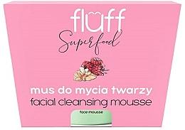 Düfte, Parfümerie und Kosmetik Gesichtsmousse mit Himbeere und Mandel - Fluff Facial Cleansing Mousse Raspberry & Almonds