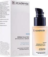 Düfte, Parfümerie und Kosmetik Aufhellendes Gesichtsserum mit Aprikosenextrakt - Academie 8h Radiance Serum