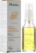Düfte, Parfümerie und Kosmetik Aprikosenkernöl für das Gesicht - Melvita Huiles De Beaute Apricot Kernel Oil