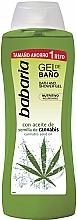 Düfte, Parfümerie und Kosmetik Bade- und Duschgel mit Hanföl - Babaria Cannabis Oil Bath And Shower Gel