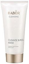 Düfte, Parfümerie und Kosmetik Porentief reinigende Maske mit Peeling-Effekt - Babor Cleanse & Peel Mask