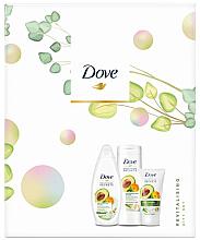 Düfte, Parfümerie und Kosmetik Körperpflegeset - Dove Revitalising Set (Duschgel 250ml + Körperlotion 250ml + Handcreme 75ml)